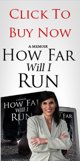 "Author Christina Baird writes a memoir title, ""How Far Will I Run"""