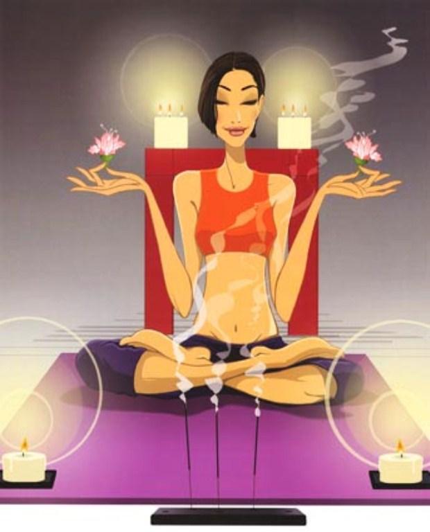 Медитация приколы картинки