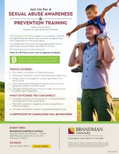 Brandman University SOC Training 03-12-16