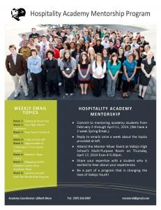HospAca Mentorship Program Flyer - A