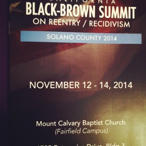 Black Brown Summit of Solano County 2014