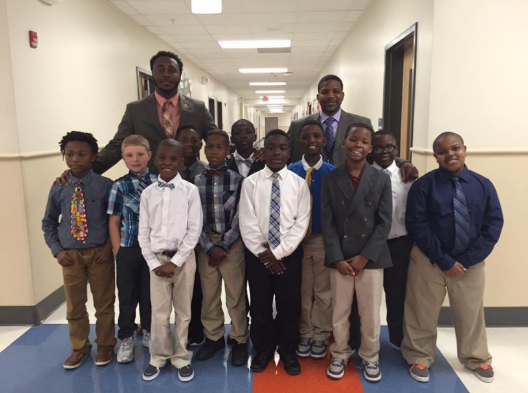 Counselor creates 'Gentleman's Club' to teach students life lessons